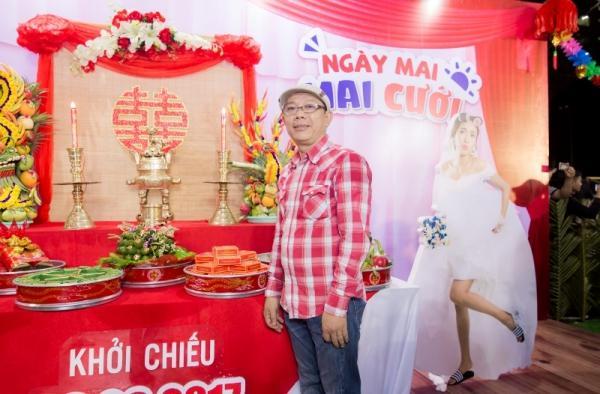 Dàn sao Việt đội mưa đến mừng đám cưới của Diệu Nhi-1