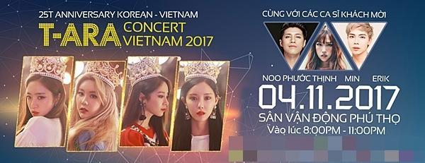 T-ara tái ngộ Noo Phước Thịnh trong concert riêng ở Việt Nam-1