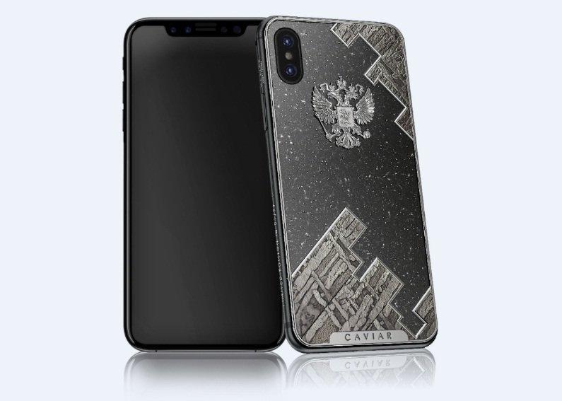iPhone X gắn đá thiên thạch có giá hàng trăm triệu đồng-1