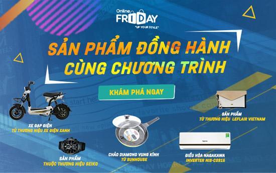 Online Friday 2017: hàng ngàn sản phẩm/dịch vụ ưu đãi 'khủng'-2
