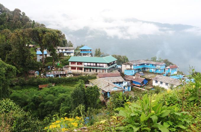 Hành trình trekking đường núi ở đất nước Nepal huyền bí-1