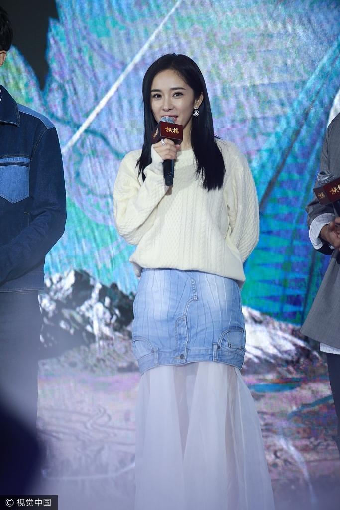 Sau scandal cướp vai, Dương Mịch khoe vẻ đẹp xuất sắc bên cạnh Ảnh đế Kim Mã-6