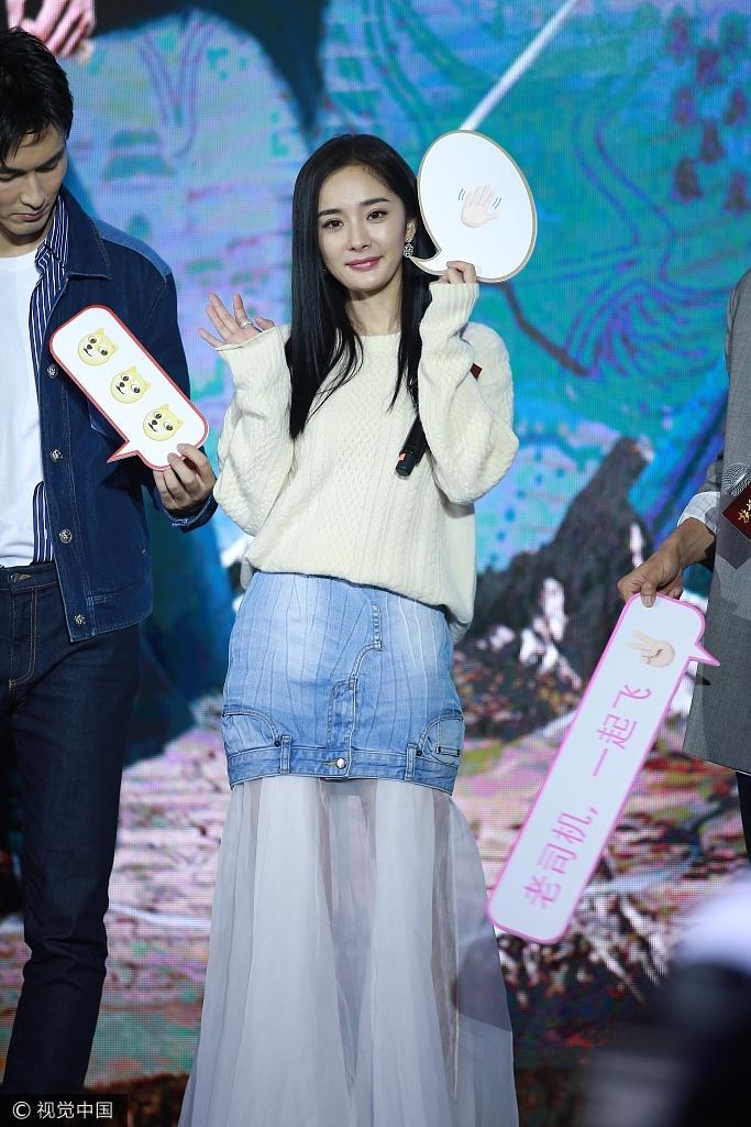 Sau scandal cướp vai, Dương Mịch khoe vẻ đẹp xuất sắc bên cạnh Ảnh đế Kim Mã-7