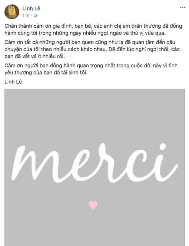 Linh Lê thấy mình được tái sinh nhờ tình yêu của BTV Quang Minh-2