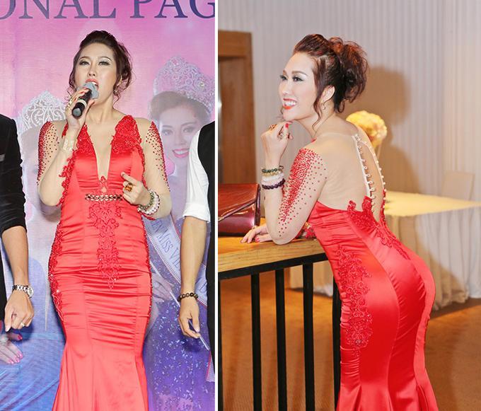 Minh Hằng diện đồ như mẫu game, Ngọc Trinh mặc váy có như không lọt top sao thảm họa-4