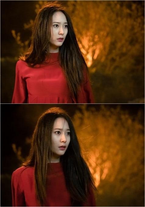 Thở dài trước mái tóc ngắn lộ trán bướng, fan tiếc nuối nhớ thương nữ thần tóc xoăn Krystal-5