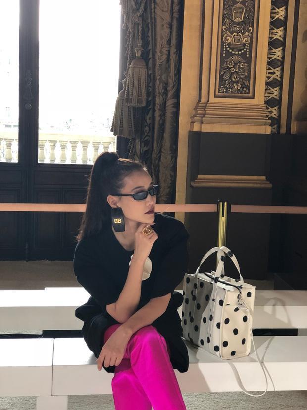 Nghi vấn Maya khoe ảnh dự show Balmain tại Paris Fashion Week, nhưng chỉ là đến chụp ảnh rồi đi về-3