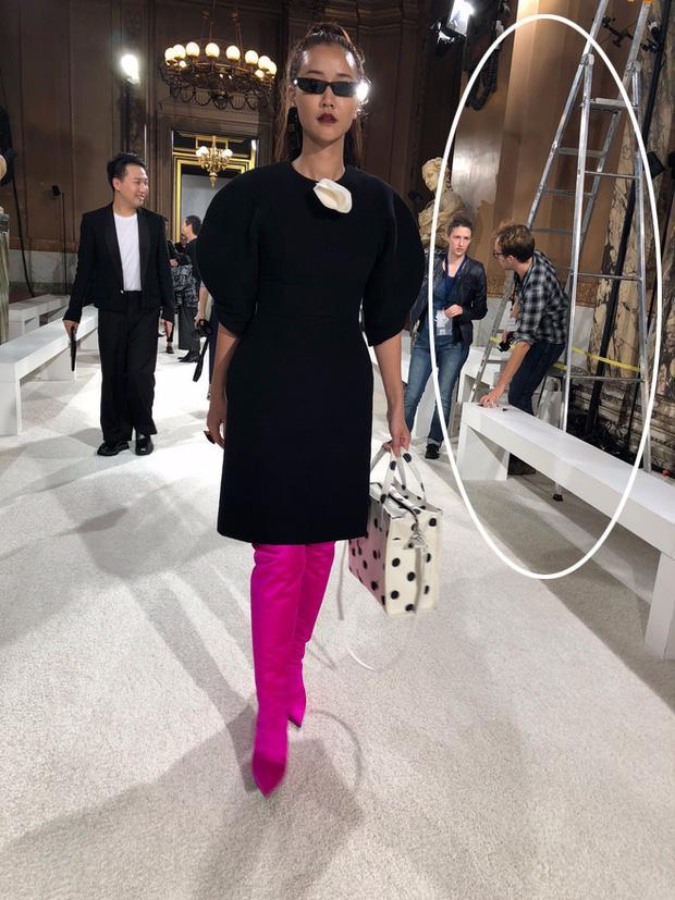Nghi vấn Maya khoe ảnh dự show Balmain tại Paris Fashion Week, nhưng chỉ là đến chụp ảnh rồi đi về-5