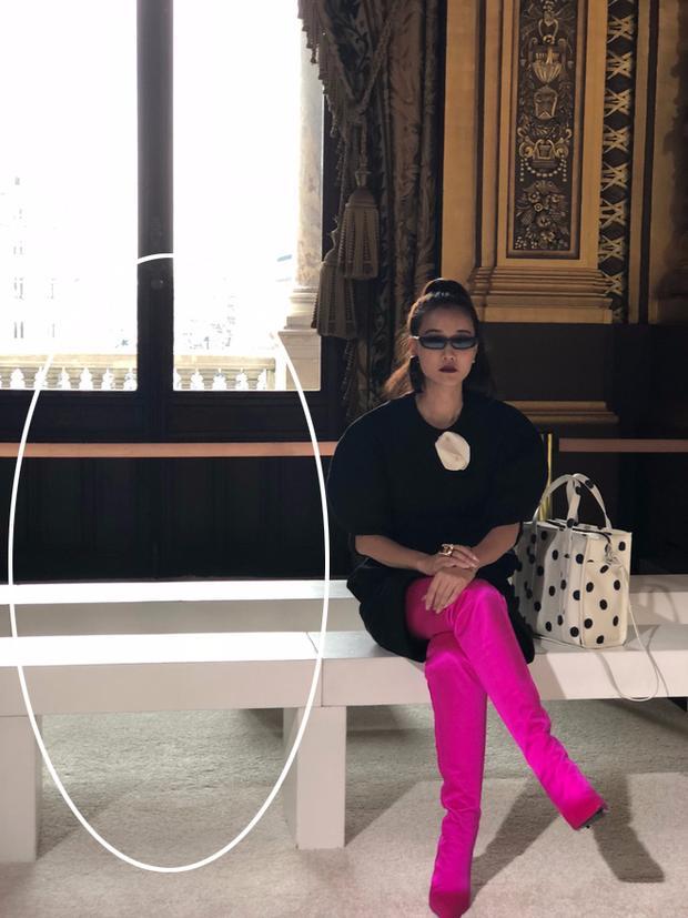 Nghi vấn Maya khoe ảnh dự show Balmain tại Paris Fashion Week, nhưng chỉ là đến chụp ảnh rồi đi về-6