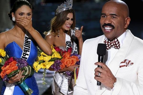 Thảm họa MC Steve Harvey tiếp tục cầm trịch Hoa hậu Hoàn vũ Thế giới 2017-2