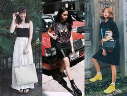 Vượt mặt dàn mỹ nhân Việt, Châu Bùi nổi bật với street style cực chất trong sự kiện của Louis Vuitton