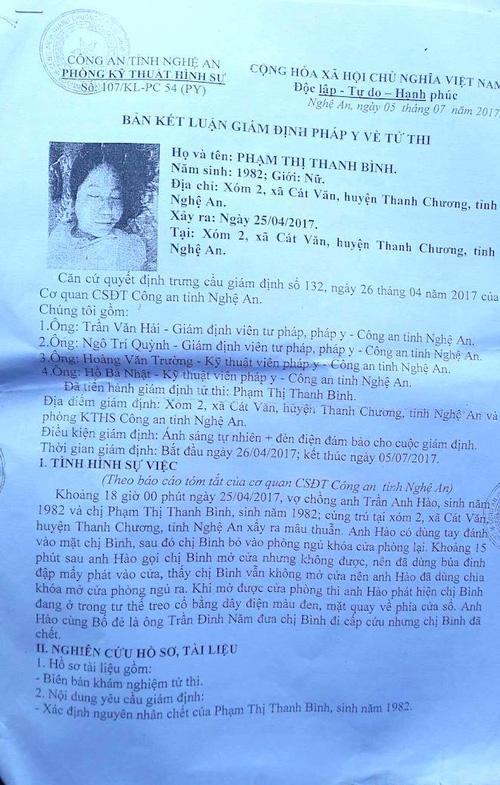 Cha làm đơn xin điều tra cái chết treo cổ đầy uẩn khúc của con gái mang thai 6 tháng-4