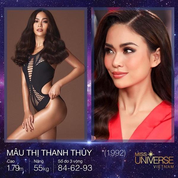 Phát hiện chiều cao thật của Hoàng Thùy, Mâu Thủy tại Hoa hậu Hoàn vũ Việt Nam 2017-3