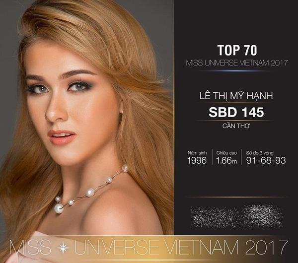 Phát hiện chiều cao thật của Hoàng Thùy, Mâu Thủy tại Hoa hậu Hoàn vũ Việt Nam 2017-12