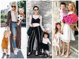 Những bà mẹ nhiều con vẫn kiếm bộn tiền nhờ mặc đẹp