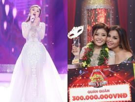 Diện váy 60 triệu hát hit Hồ Ngọc Hà, 'bản sao' Minh Tuyết lên ngôi quán quân