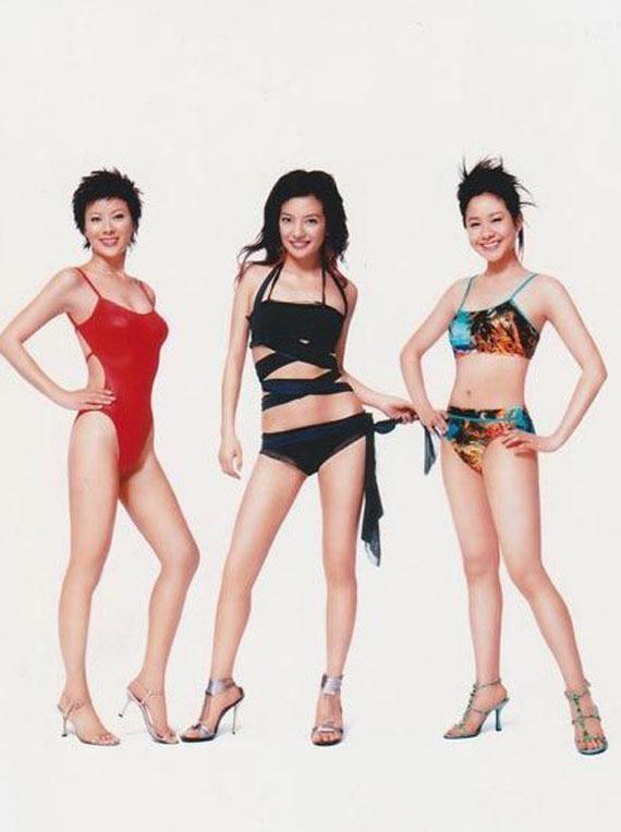 Đâu riêng Lâm Tâm Như, Triệu Vy cũng gây bất ngờ thời làm mẫu bikini-4