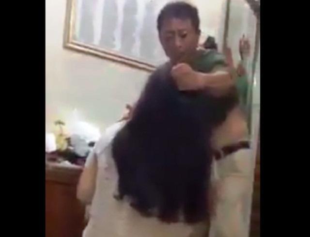 Người mẹ có con gái bị bố túm tóc đánh: Chồng tôi nói không đúng sự thật-3
