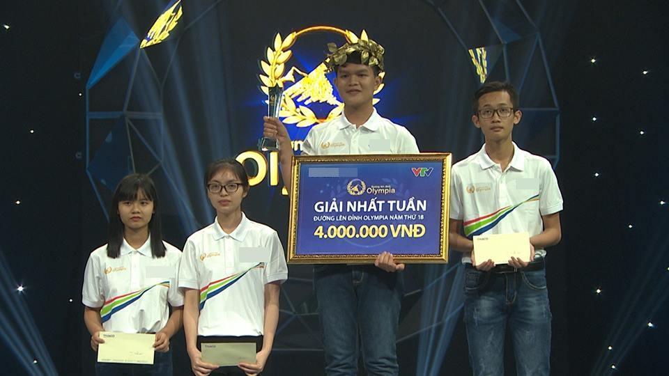 Đúng như dự đoán, 10X Phú Yên xuất sắc nhận vòng nguyệt quế Olympia-3