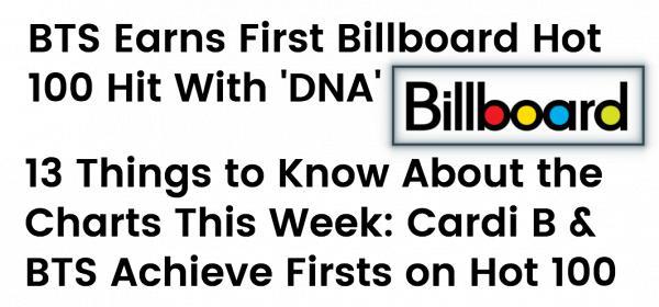 'DNA' giúp BTS lần đầu tiên debut trong top BXH danh giá thế giới Billboard Hot 100-3