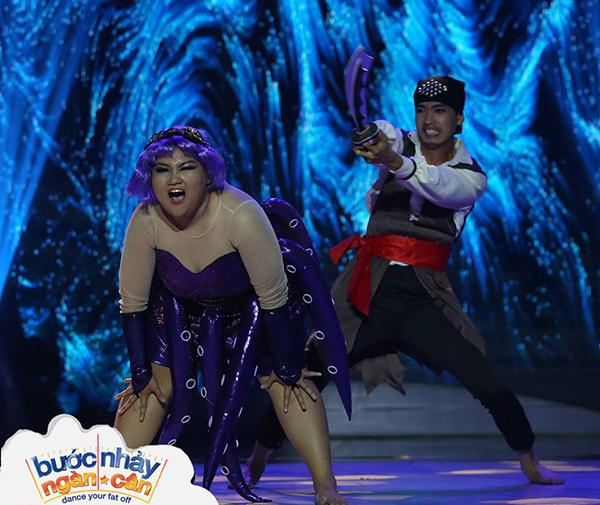 Bước nhảy ngàn cân: Đồng loạt giám khảo tròn mắt với vũ điệu nóng bỏng của thí sinh nặng 1,1 tạ-3