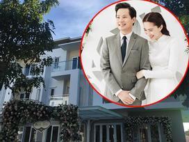 Hé lộ về căn biệt thự sang trọng - nơi tổ chức đám hỏi ấm áp của hoa hậu Thu Thảo