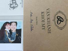 HOT: Khởi My - Kelvin Khánh đã gửi thiệp mời đám cưới, sắp sửa chính thức về chung một nhà!