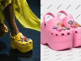 Balenciaga kết hợp Crocs cho ra mắt mẫu dép đi mưa 'khó tả' nhất Paris Fashion Week năm nay