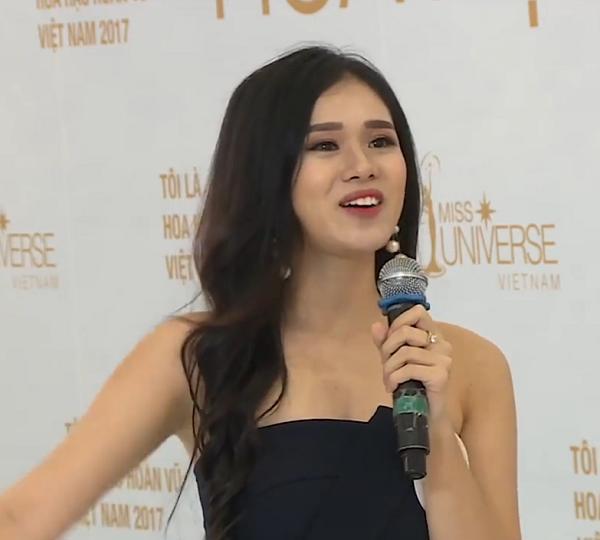 Thí sinh bị gắn mác mê tiền nhất Hoa hậu Hoàn vũ Việt Nam: Tôi không phải đứa thảo mai-1