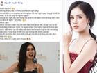 Thí sinh bị gắn mác 'mê tiền' nhất Hoa hậu Hoàn vũ Việt Nam: 'Tôi không phải đứa thảo mai'