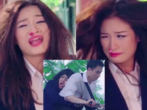 Bị đánh chảy máu mũi, 9X Hà thành vẫn cố hát Em gái mưa của Hương Tràm-1