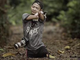 Từ chàng trai không tay chân đến nhiếp ảnh gia chuyên nghiệp