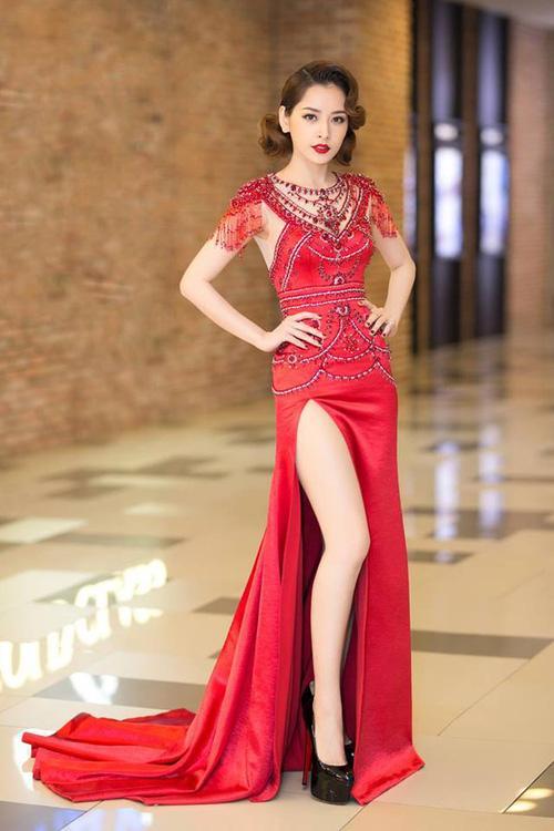 Ứng viên sáng giá của Hoa hậu Hoàn vũ lép vế khi diện lại thiết kế của Chi Pu, Hari Won-4