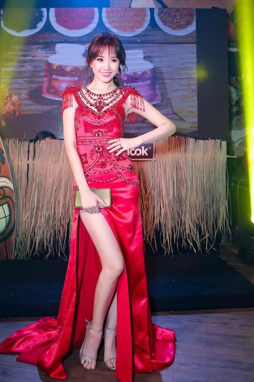 Ứng viên sáng giá của Hoa hậu Hoàn vũ lép vế khi diện lại thiết kế của Chi Pu, Hari Won-5