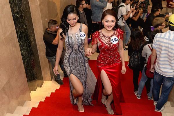 Ứng viên sáng giá của Hoa hậu Hoàn vũ lép vế khi diện lại thiết kế của Chi Pu, Hari Won-7