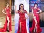 Ứng viên sáng giá của Hoa hậu Hoàn vũ lép vế khi diện lại thiết kế của Chi Pu, Hari Won