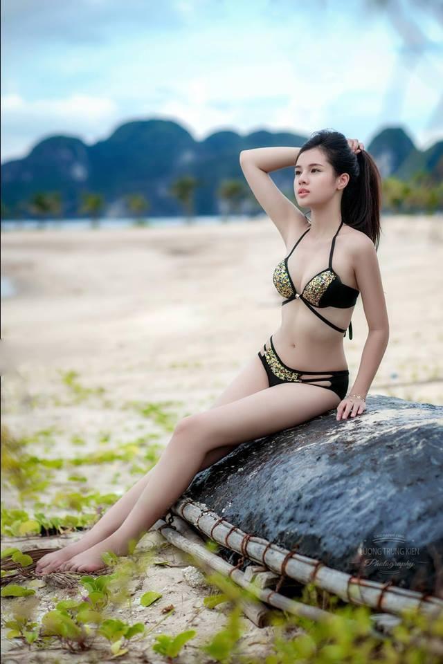 Nhan sắc đời thường xinh đẹp và nóng bỏng của thí sinh mê tiền nhất Hoa hậu Hoàn vũ Việt Nam-5
