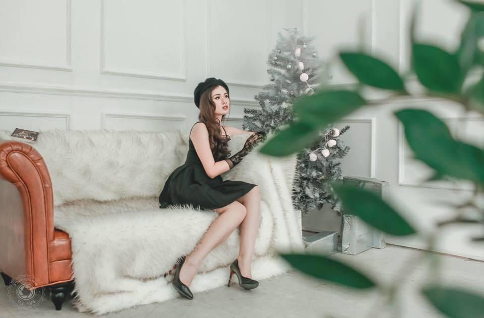 Nhan sắc đời thường xinh đẹp và nóng bỏng của thí sinh mê tiền nhất Hoa hậu Hoàn vũ Việt Nam-8