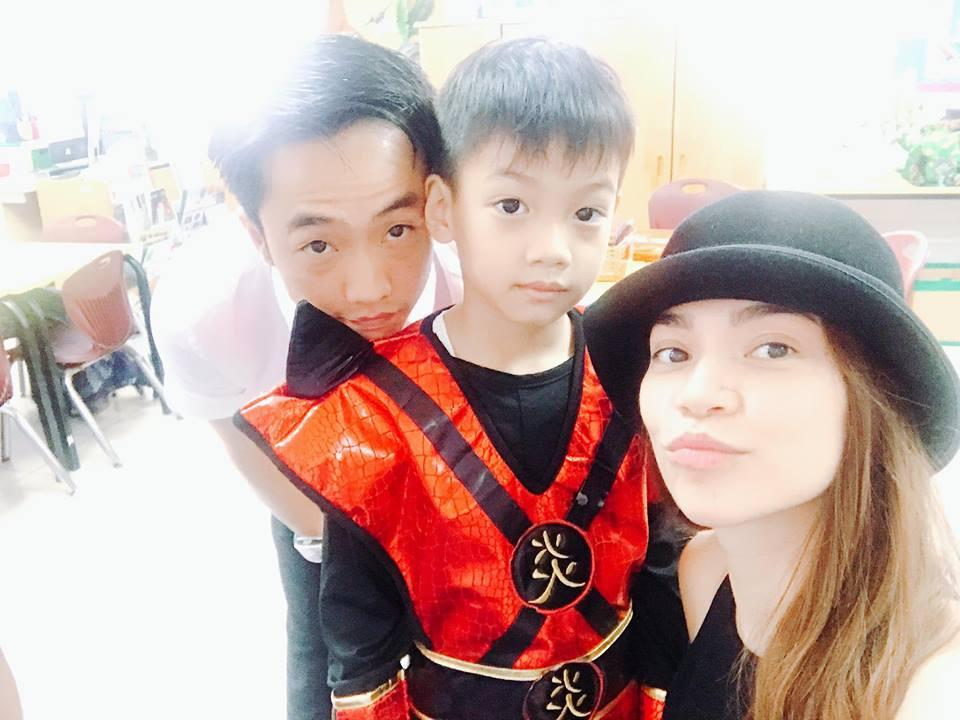 Hồ Ngọc Hà - Cường Đô La thêm một lần tái hợp đón trung thu cùng con trai Subeo-1