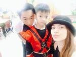 Hồ Ngọc Hà - Cường 'Đô La' thêm một lần tái hợp đón trung thu cùng con trai Subeo
