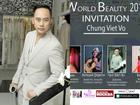 Nhà thiết kế Võ Việt Chung đảm đương vai trò giám khảo Miss World Beauty tại Nga