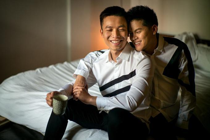 Bạn đời đồng tính đẹp trai như nam thần của sao Việt-3