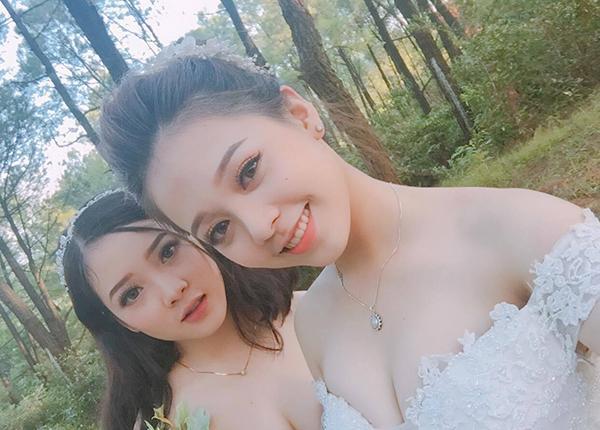 Đã tìm ra danh tính cô dâu và phù dâu xinh đẹp nhất Facebook được dân mạng săn lùng suốt hôm qua-2