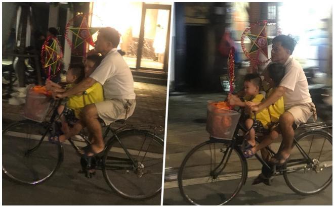 Có một Trung thu bình dị như thế: Đèn ông sao, xe đạp và cha-1