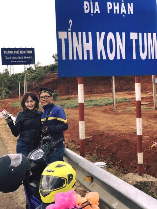 Cặp phượt thủ gây bão vì hôn nhau khắp Việt Nam-1