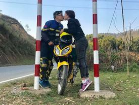Cặp phượt thủ gây 'bão' vì hôn nhau khắp Việt Nam