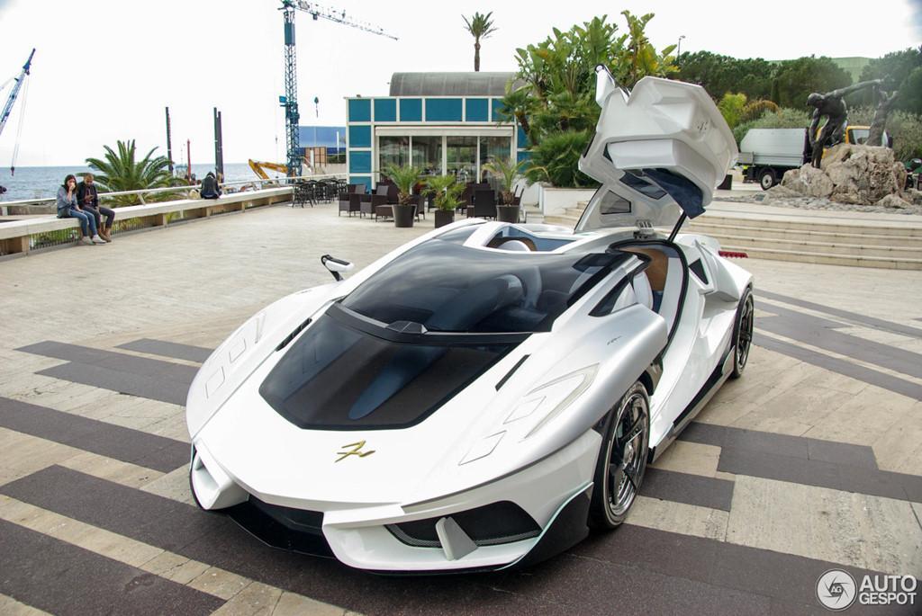 Siêu xe vũ trụ FV-Frangivento Asfanè bất ngờ xuất hiện ở Monaco-1