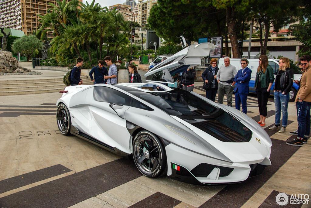 Siêu xe vũ trụ FV-Frangivento Asfanè bất ngờ xuất hiện ở Monaco-2