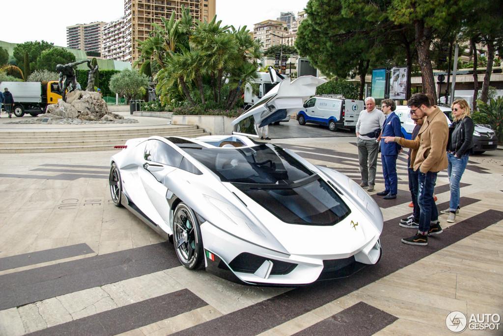 Siêu xe vũ trụ FV-Frangivento Asfanè bất ngờ xuất hiện ở Monaco-4