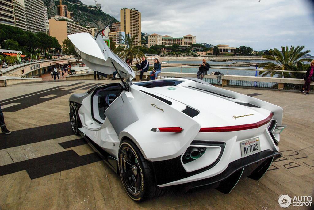 Siêu xe vũ trụ FV-Frangivento Asfanè bất ngờ xuất hiện ở Monaco-5